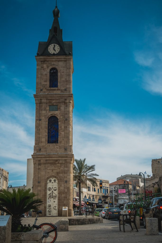 Clock-Tower Jaffa