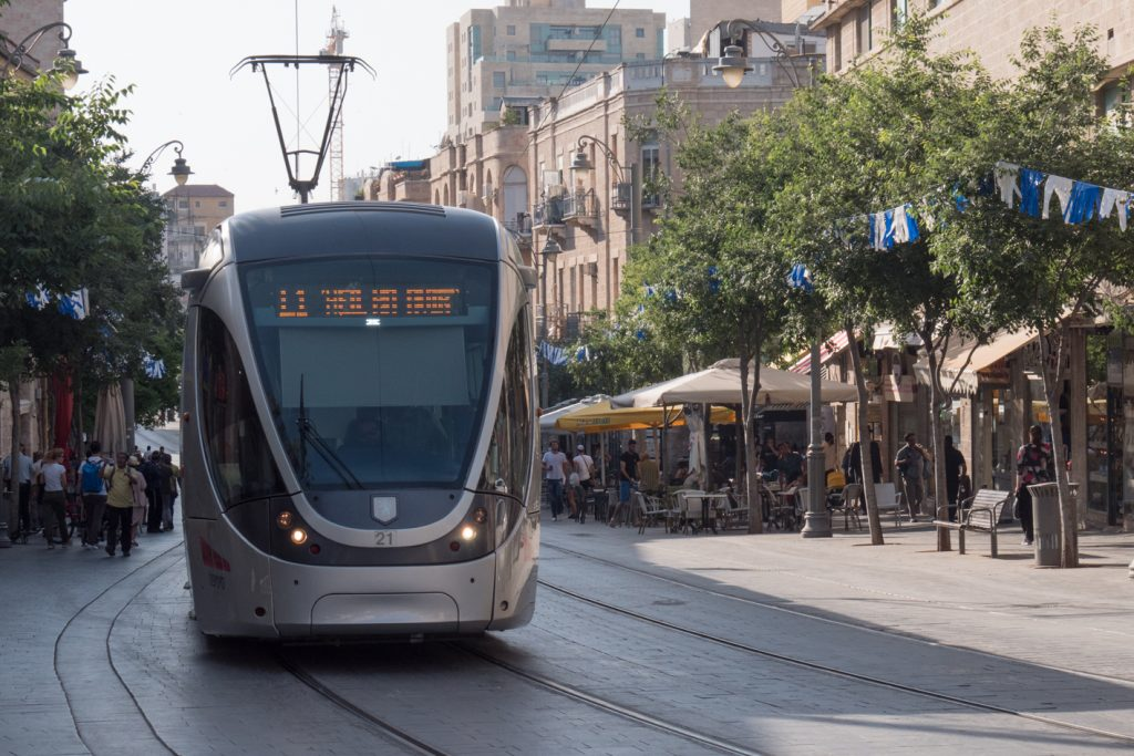 Light-Rail Jerusalem